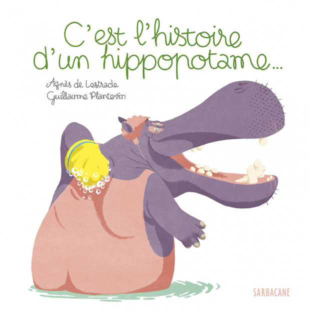 couverture livre c'est l'histoire d'un hippopotame