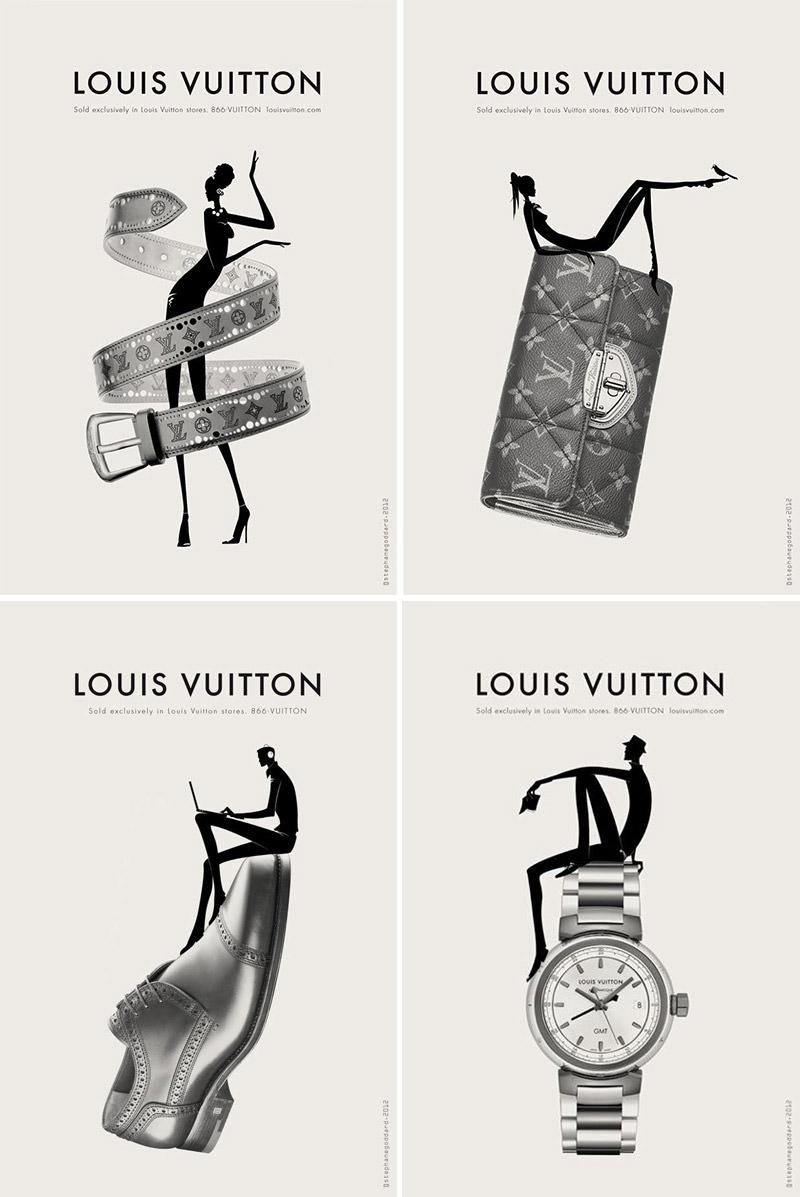 Publicités Louis Vuitton
