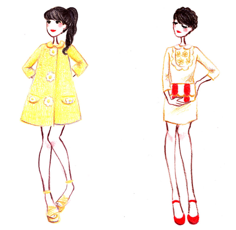 mode personnage illustration