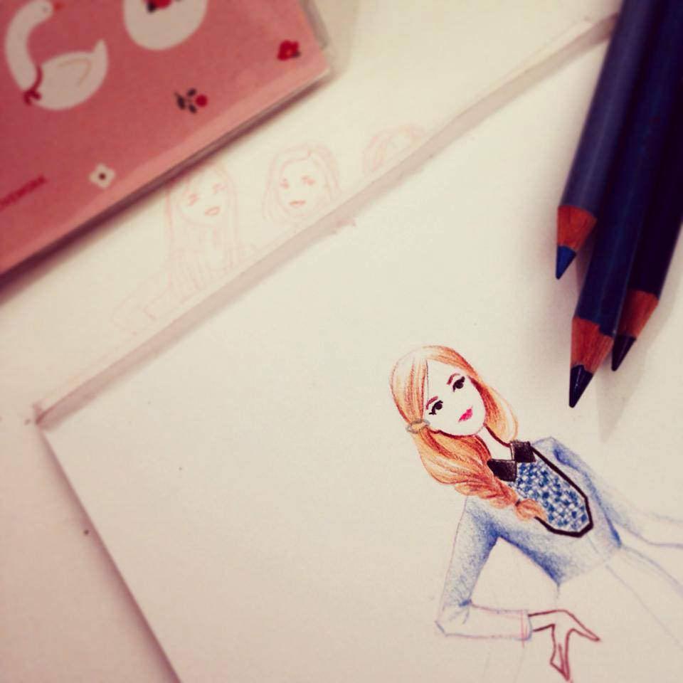 Maelle Rajoelisolo crayonné