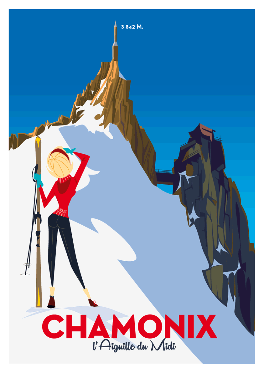 illustration pic chamonix