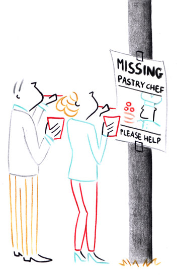 missing pastry chef Washingtonian Magazine