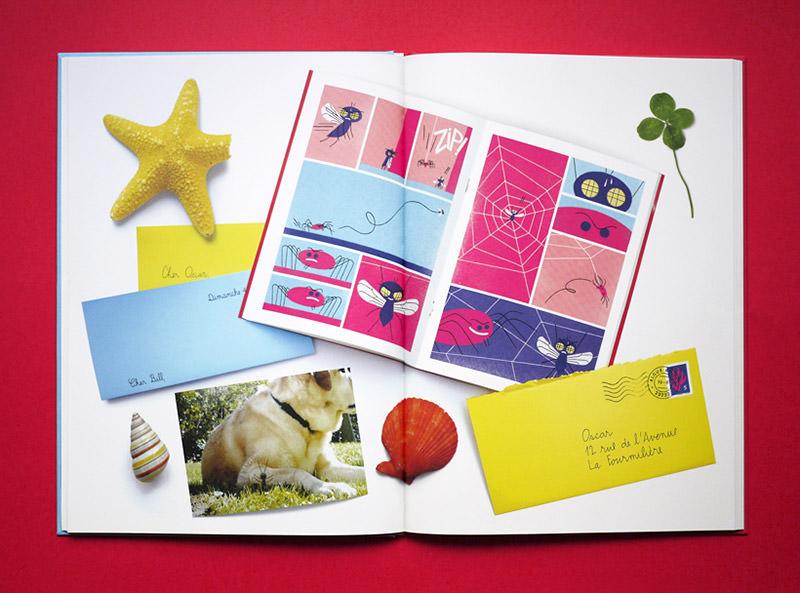 intérieur du livre pour enfants cher bill