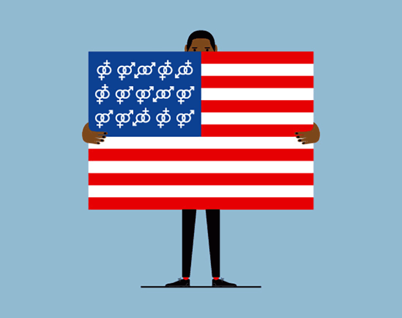 illustration flag