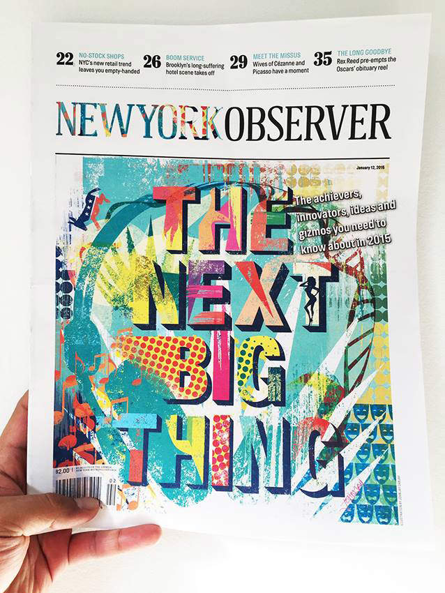 couverture new york observer