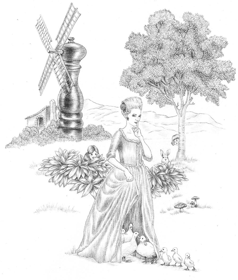 portrait contesse du bary