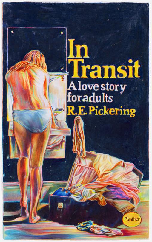 fake novel cover